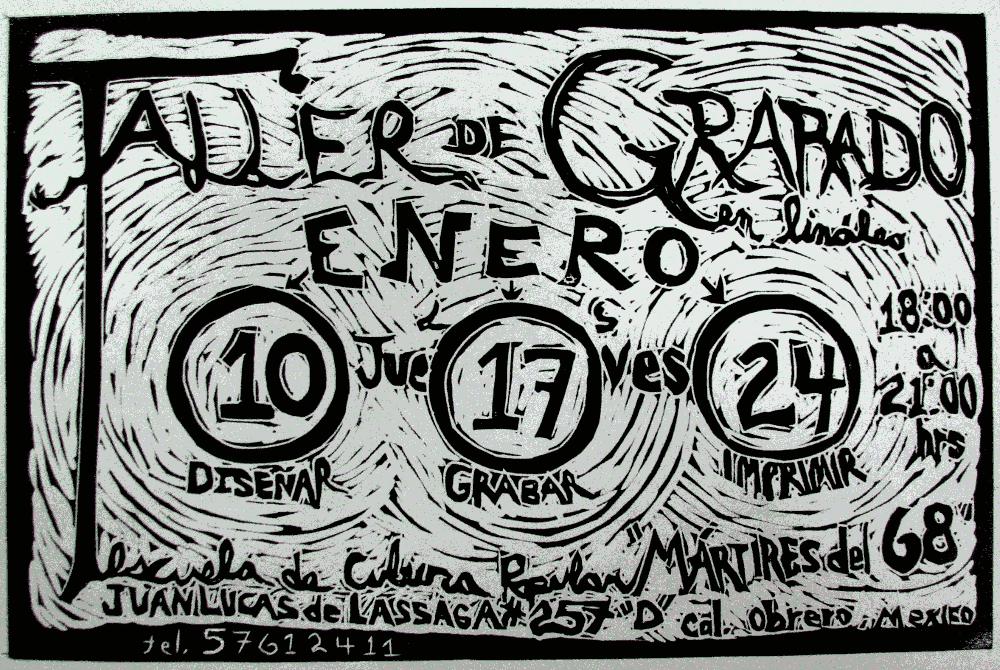 TALLER GRABADO THEA