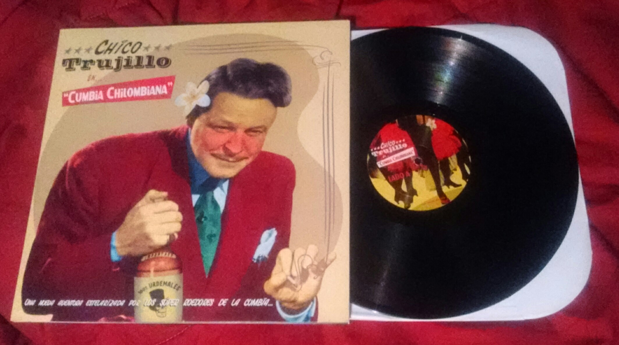 "LP Chico Trujillo ""Cumbia Chilombiana"