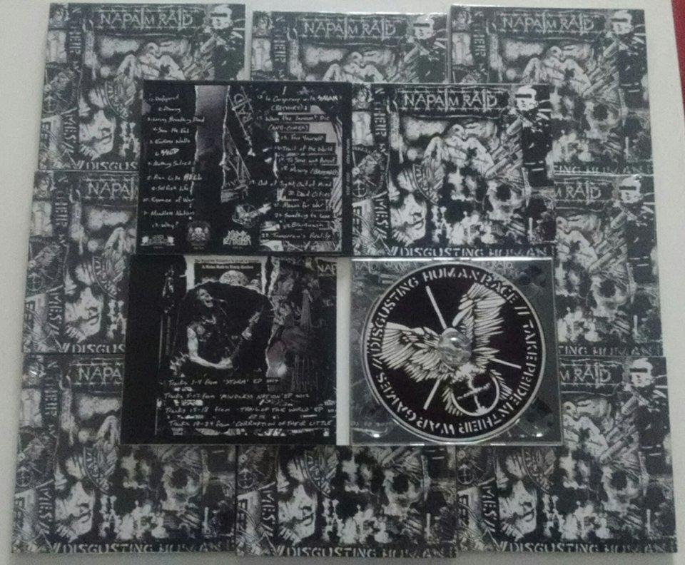 CD Napalm Raid 2010-2015 Image
