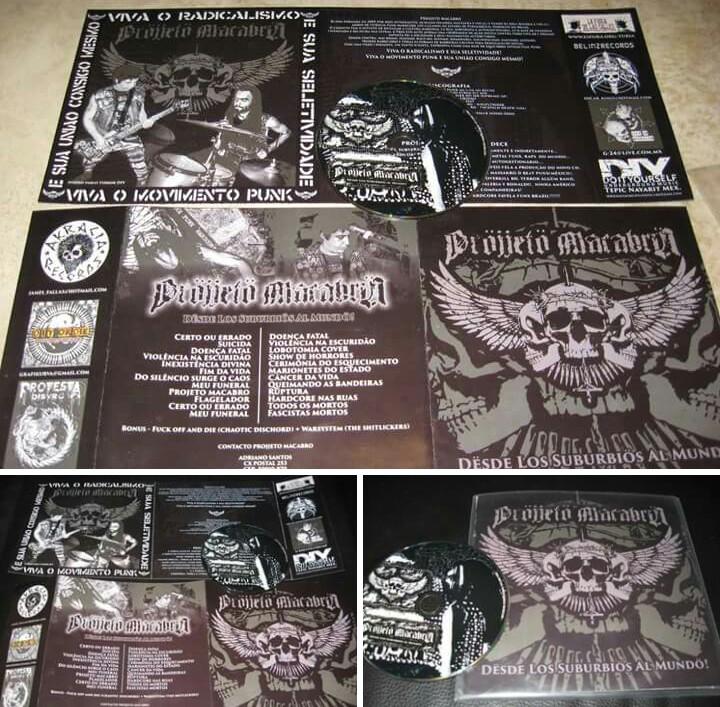 CD Projjeto Macabro (Desde los Suburbios al Mundo) Image