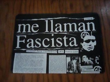 "Zine ""Me llaman fascista"" Image"