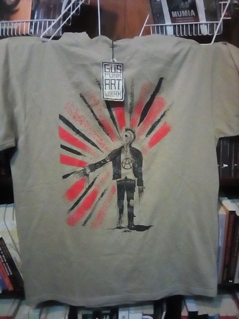 Playeras de Gus Punk Art Work!!! Image
